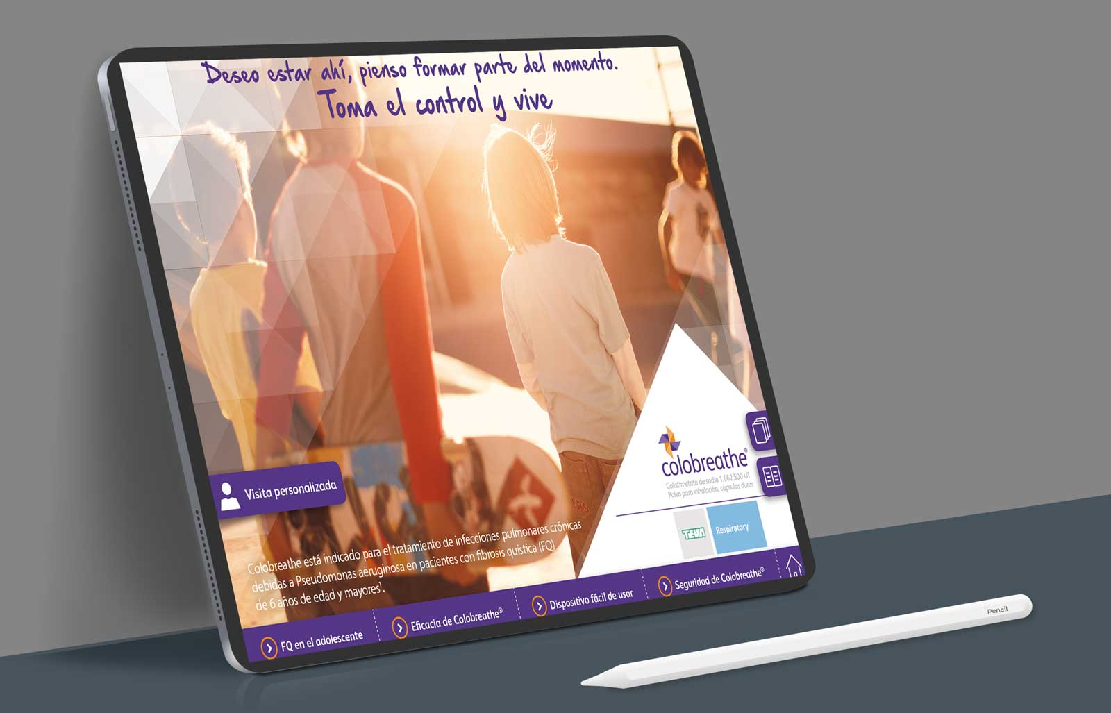 Aplicaciones médicas para tablet