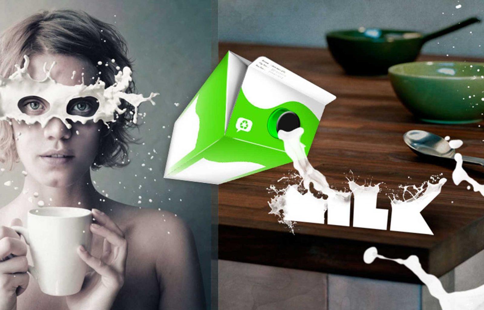 Superpoderes de la leche y otras creatividades