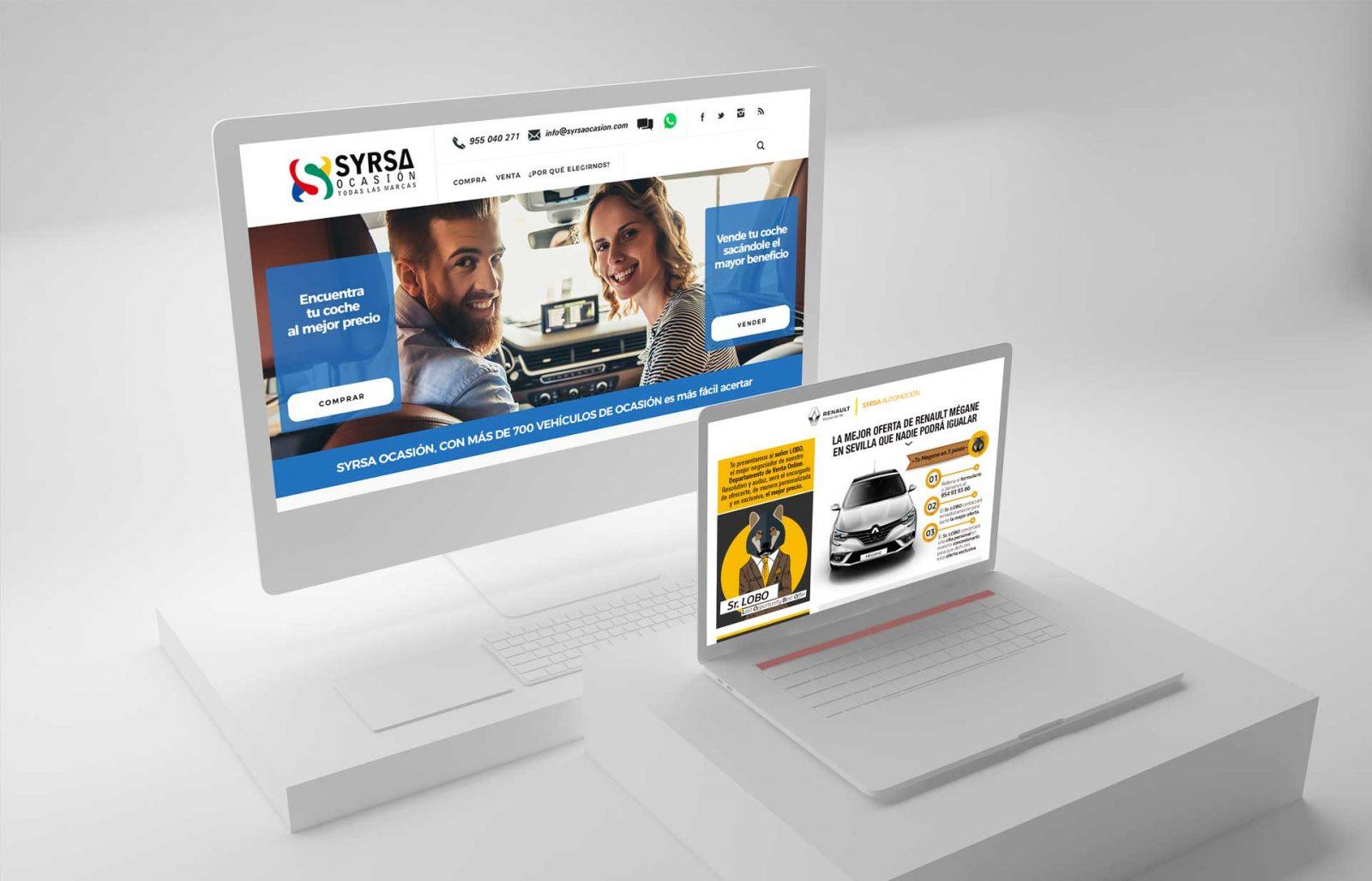 Web y piezas Syrsa Ocasión